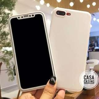 Casing + Screen Protector iphone 6-XSMAX