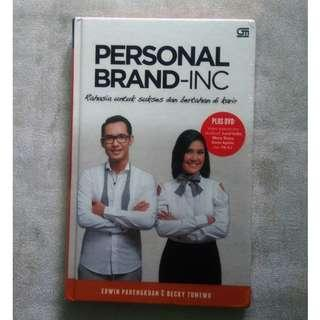 Personal Brand-Inc by Erwin Parengkuan & Becky Tumewu (hard cover, bonus DVD)