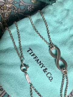 Tiffany & Co. Infinity Necklace Authentic