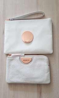 BNWT Mimco white and rose gold set