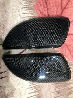 Scirocco Carbon Fiber Side Mirror Cover
