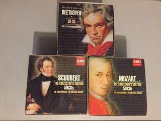 CD: Beethoven; Mozart; Schubert masterpieces