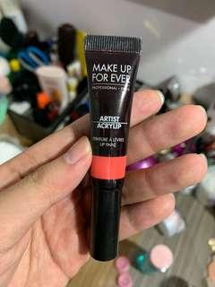 Make Up For Ever acrylip lip paint