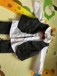 H&M男嬰百日宴套裝