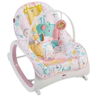 (In-Stock) Fisher-Price Infant-to-Toddler Rocker, Pink (Brand New)