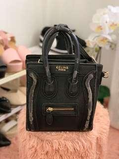 Black Sling Bag #MMAR18
