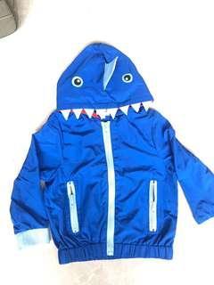 Authentic Baby Seed Blue Shark Windbreaker size: 3T