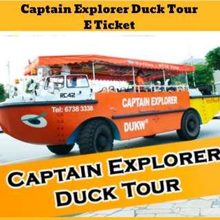 🚚 Captain Explorer DUKW Tour