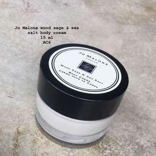 Jo Malone wood sage & sea salt body cream 15ml
