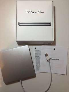 Apple USB Superdrive CD/DVD BURNER (RRP: $119)