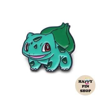 [OTW] Cheeky Bulbasaur Enamel Pin - Pokemon pins
