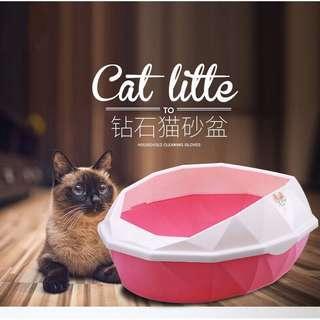 Tandas kucing portable
