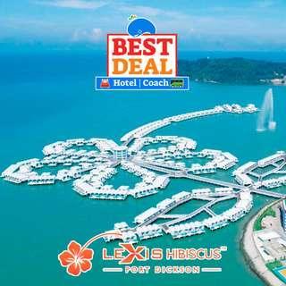 2D1N Lexis Hibiscus Resorts + 2-Way Coach + Land Transfer + Breakfast