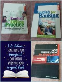 English for office practice, english for banking , english for job interview