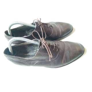 Sepatu Gino Mariani Pantopel Kulit Asli Original Italy No Nomer 42