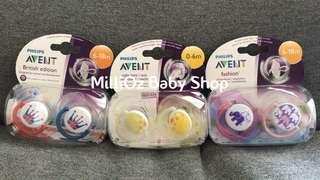 Philips Avent Pacifier (Soother) 2pcs (0-6m) & (6-18m)