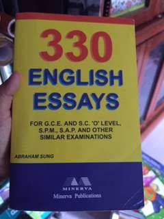 330 English Essay #MMAR18