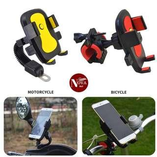 Mobile Holder For Motorcycle / Bicycle