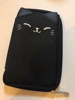 Black Kitty Pencil Case