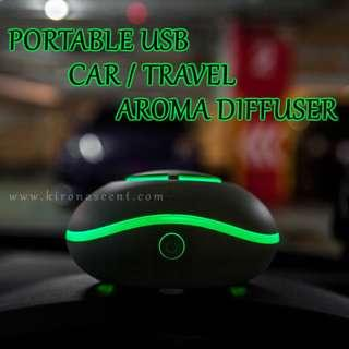 🚚 Portable Car Travel Aroma Diffuser / USB & Battery Operated / Essential Oil Diffuser / Aromatherapy / Free Delivery