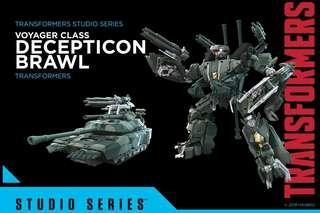 Transformers Studio Series SS12 變形金剛 轟天雷 Brawl voyager class takara tomy 孩子寶 hasbro
