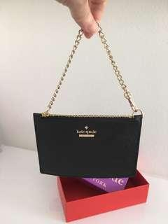 Brand NEW Kate Spade Wristlet With Chain