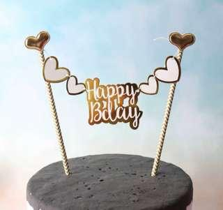🚚 Birthday Cake Topper