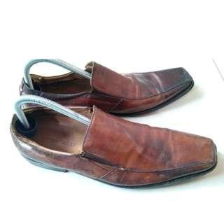 Sepatu Pantopel Kulit Andrew England Inggris Original Asli No Nomer 44