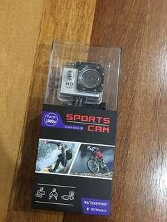 🆕Sports Camera Full HD 1080p (Waterproof)