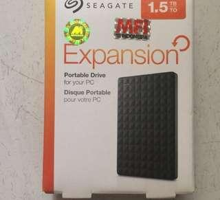 hardisk seagate expansion 1.5tb