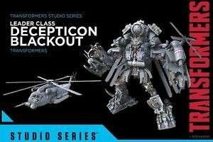 Transformers Studio Series SS08 變形金剛 黑魔 Blackout leader class takara tomy 孩子寶 hasbro