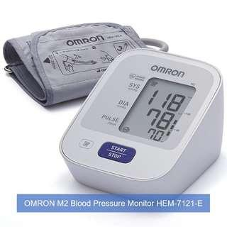🚚 [March Sales] Brand New & Authentic OMRON Healthcare M2 Upper Arm Blood Pressure Monitor and FREE SAME DAY DOORSTEP DELIVERY at S$63!