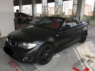Bmw convertible for rent!