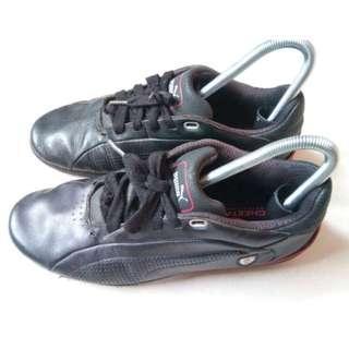 Sepatu Puma Kulit Ferrari Official Product Original Asli No 40 Leather