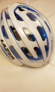 Lazer Z1 cycling helmet blue/white