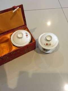 China Treasures - vintage Chinese ceremonial tea cups