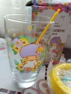 三麗鷗盆栽&玻璃杯組