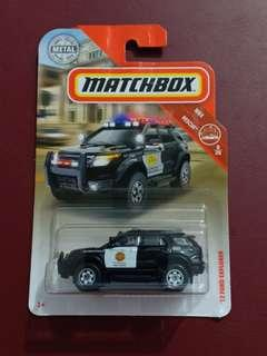CPL - 12 Ford explorer matchbox