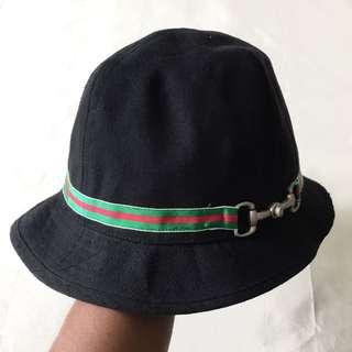 0e5b09f186f Authentic Old Gold JP Gucci Inspired Bucket Hat