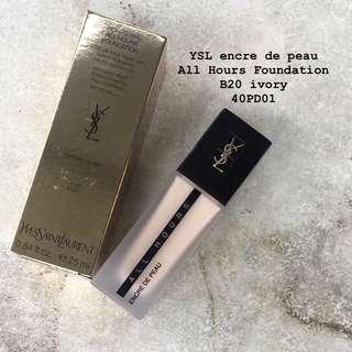 YSL encre de peau all hours foundation B20