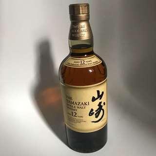 日本威士忌 山崎 12年