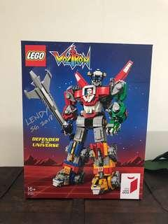 LEGO Voltron (Signed)