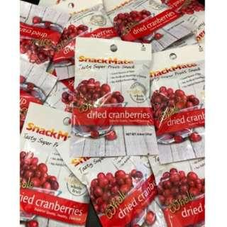 美國<SnackMate>原粒紅莓