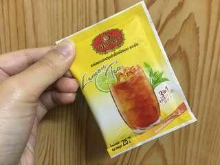 【過期品】泰國 手標 三合一 即溶 檸檬紅茶 25g