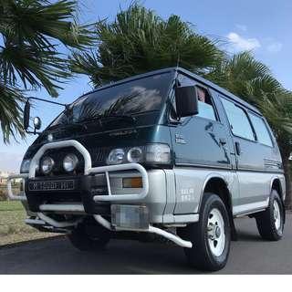 1998年 得利卡 柴油 4WD 手排大嚕 2.5L【里程15萬】四輪傳動廂型車