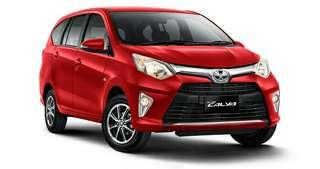 Promo Toyota Calya Taxi Online