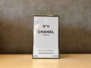 Brand New Chanel No 5 Eau De Parfum 100ml 全新未開封Chanel Paris香水