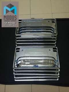 Toyota Chrome Frame plate no Holder