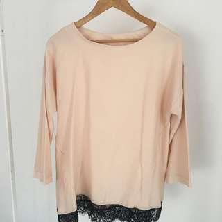 #MMAR18  22. Nude Blouse lace
