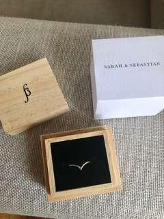 Sarah & Sebastian ring